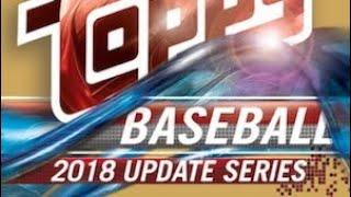 11/07/18 - eBay - 9 PM CDT - 2018 Topps Update Baseball Jumbo 1/2 Case Break