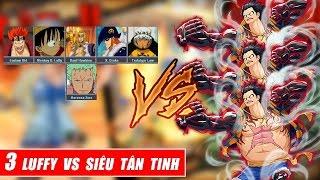 Song đấu One Piece   Luffy thách thức Siêu Tân Tinh và kết cục bất ngờ
