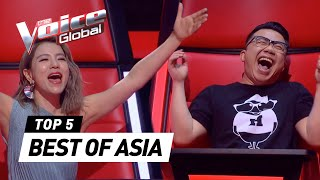 The Voice Global | BEST Blind Auditions of ASIA