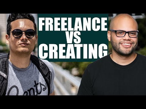 Freelance vs Creating For Yourself - Time Management while doing YouTube Full-Time