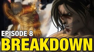 ASSASSIN'S BULLET!! 😭 | Attack on Titan Season 4 Episode 8 Breakdown