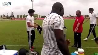 بالفيديو| منتخب مصر يكثف تدريباته قبل مواجهة مالي