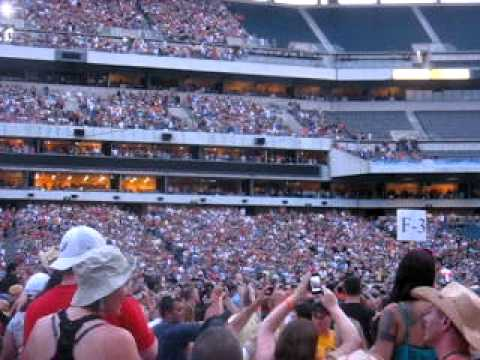 Kenny Chesney Fly Over opening Philly with Live a Little