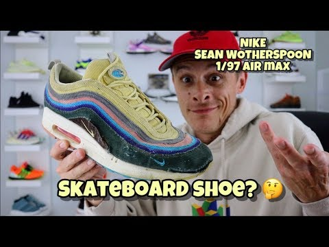 NIKE x SEAN WOTHERSPOON 1/97 x AIR MAX (after you skateboard in them)