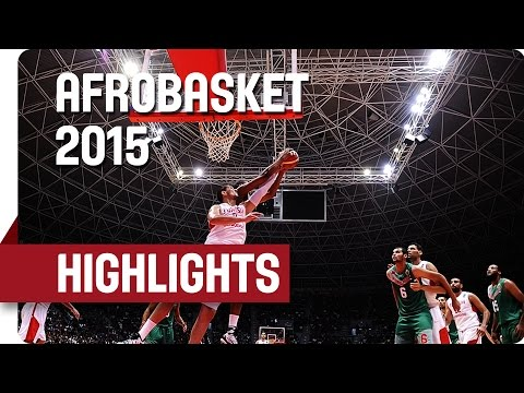 Tunisia v Morocco - Game Highlights - Round of 16 - AfroBasket 2015