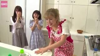 Cooking Omellete Rice With Natsuyaki Miyabi And Country Girls!(Eng Sub)