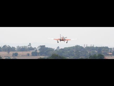 FAB T27  TUCANO ESQUADRÃO COMETA E HAWKER  800XP  GEIV  EM OPERAÇÃO AEROPORTO DE LONDRINA