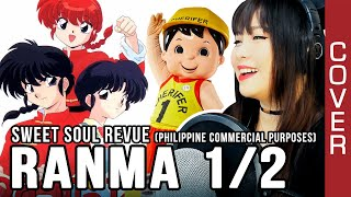 Ranma 1/2 Philippine Commercial - Sweet Soul Revue by Pizzicato Five cover with lyrics and Eng sub