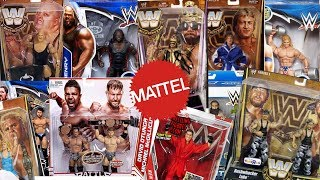 How Many Different WWE Superstars Have Mattel Made Figures Of??? Part 4
