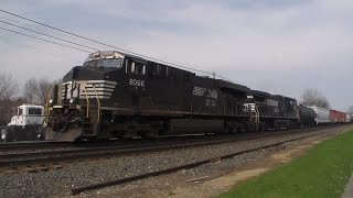 Railfanning in Macungie, With UP, A Crossing Gate Malfunction, and Horrible Sounding Horns!