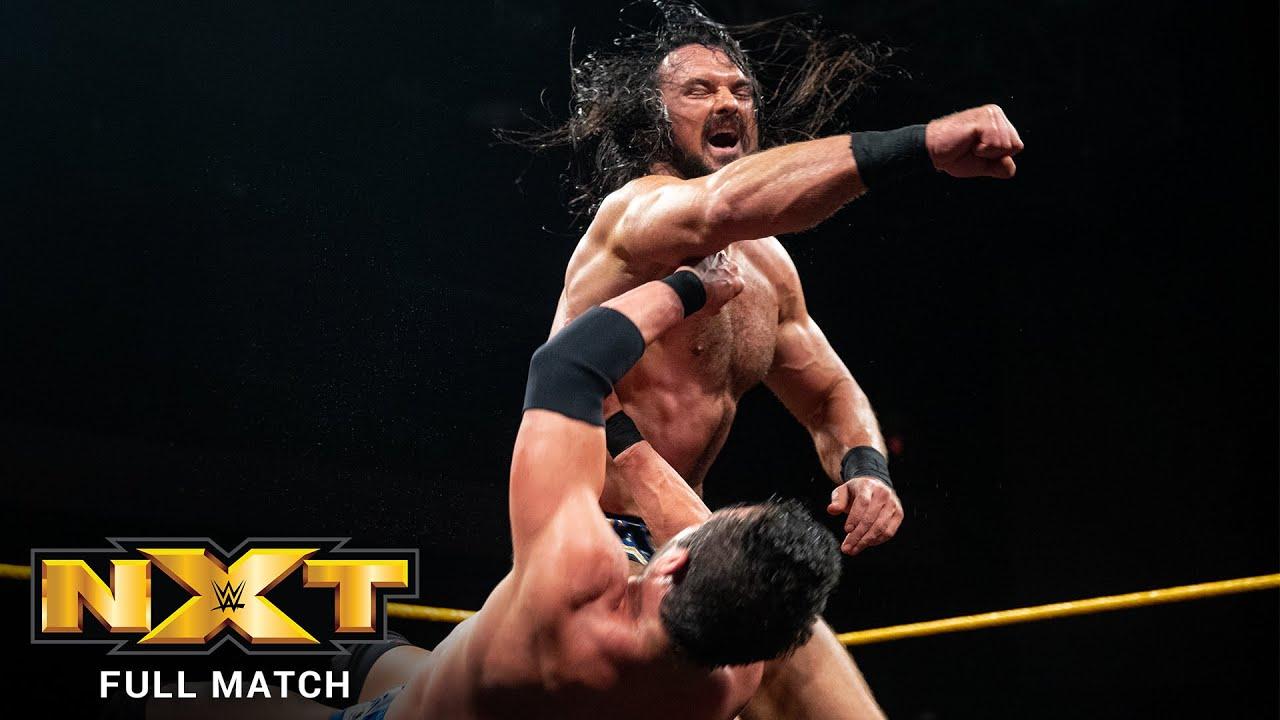 FULL MATCH - Drew McIntyre vs. Roderick Strong - NXT Title Match: NXT, Oct. 4, 2017