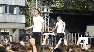 Kraftklub - Sklave Live in Chemnitz 11.06.2017