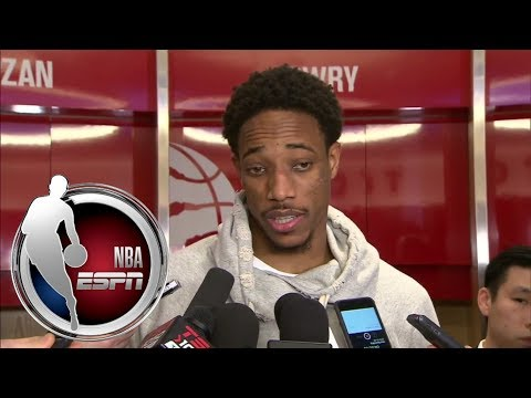 DeMar DeRozan unsure of what caused fight with Goran Dragic | NBA on ESPN