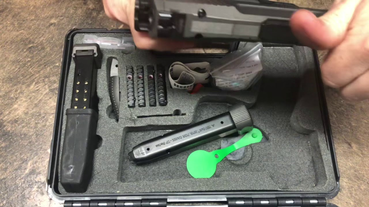 Canik TP9SFX Unboxing Review