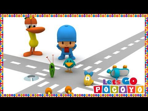 Let's Go Pocoyo! - Traffic Jam [Episode 41] in HD