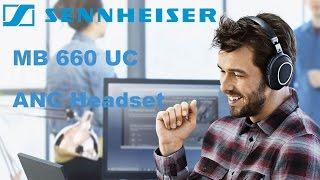 Sennheiser MB 660 UC - adaptives ANC Headset für störungsfreies Arbeiten im Büro. Preview