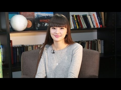 Sabina Altynbekova, a living anime character from Kazakhstan: exclusive interview