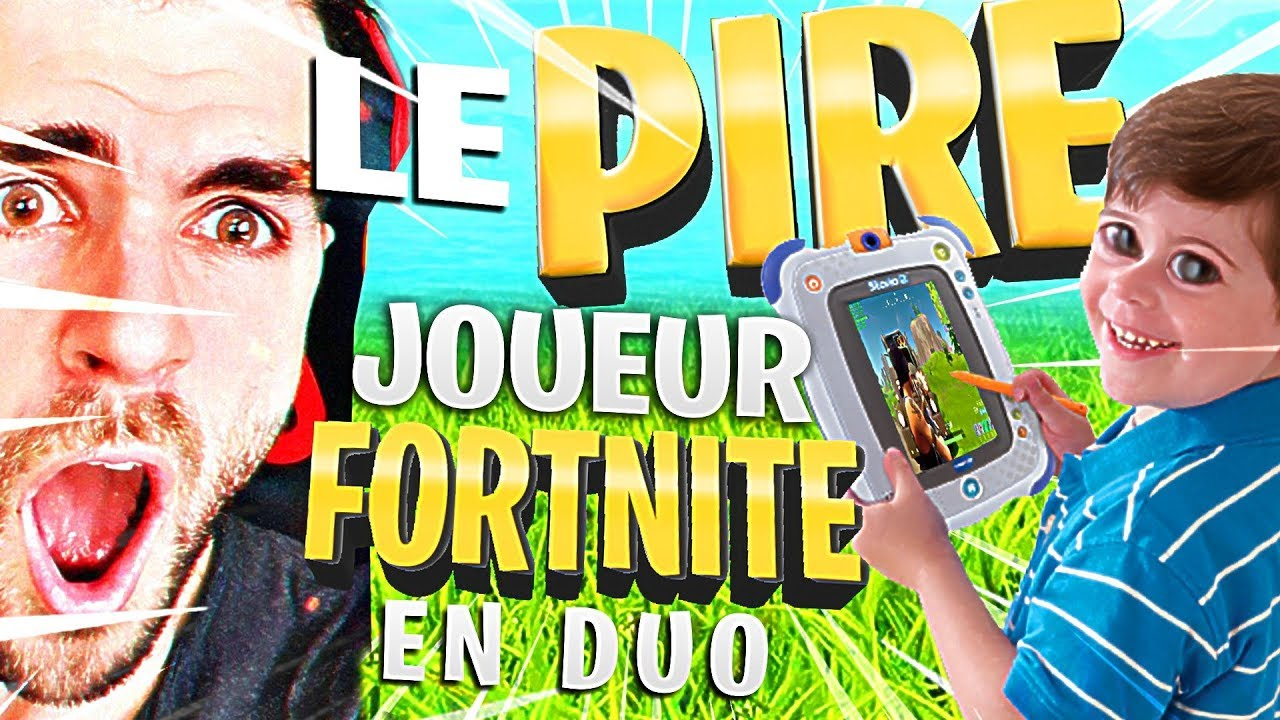 🔥DUO AVEC LE PIRE JOUEUR DE FORTNITE #1 NooB Duo! Top1 Battle Royale