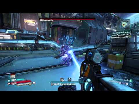 Silver Sable Ultimate Vault Hunter Borderlands The Pre-Sequel With GrapplerAndrew Ep 1