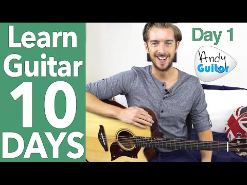 Guitar Lesson 1 - Absolute Beginner? Start Here! [Free 10 Day Starter Course]