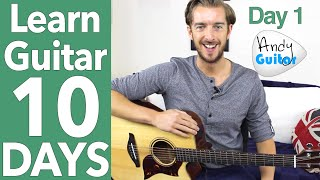 Video Guitar Lesson 1 - Absolute Beginner? Start Here! [Free 10 Day Starter Course] download MP3, 3GP, MP4, WEBM, AVI, FLV Agustus 2018