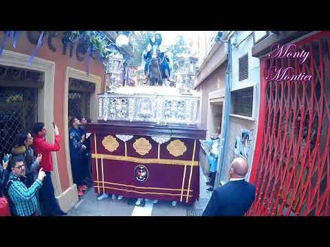 La Borriquita Almeria 2018 - AM Cristo de las Aguas - Calle Tiendas