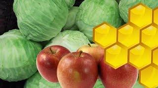 КВАШЕНАЯ КАПУСТА с яблоками и мёдом + СЮРПРИЗ.