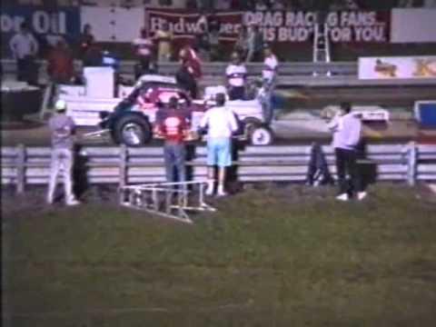 Night racing at Maple Grove Raceway-1990 Keystone Nationals