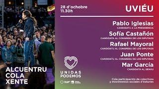 Encuentro en Oviedo con Pablo Iglesias