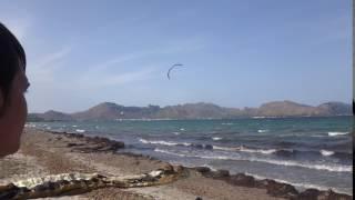 kite spot Mallorca Portblue Club kiteschool edmkpollensa com flysurfer school Speed 3 quince metros