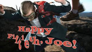 Happy FIFTIETH, Joe Bentley!