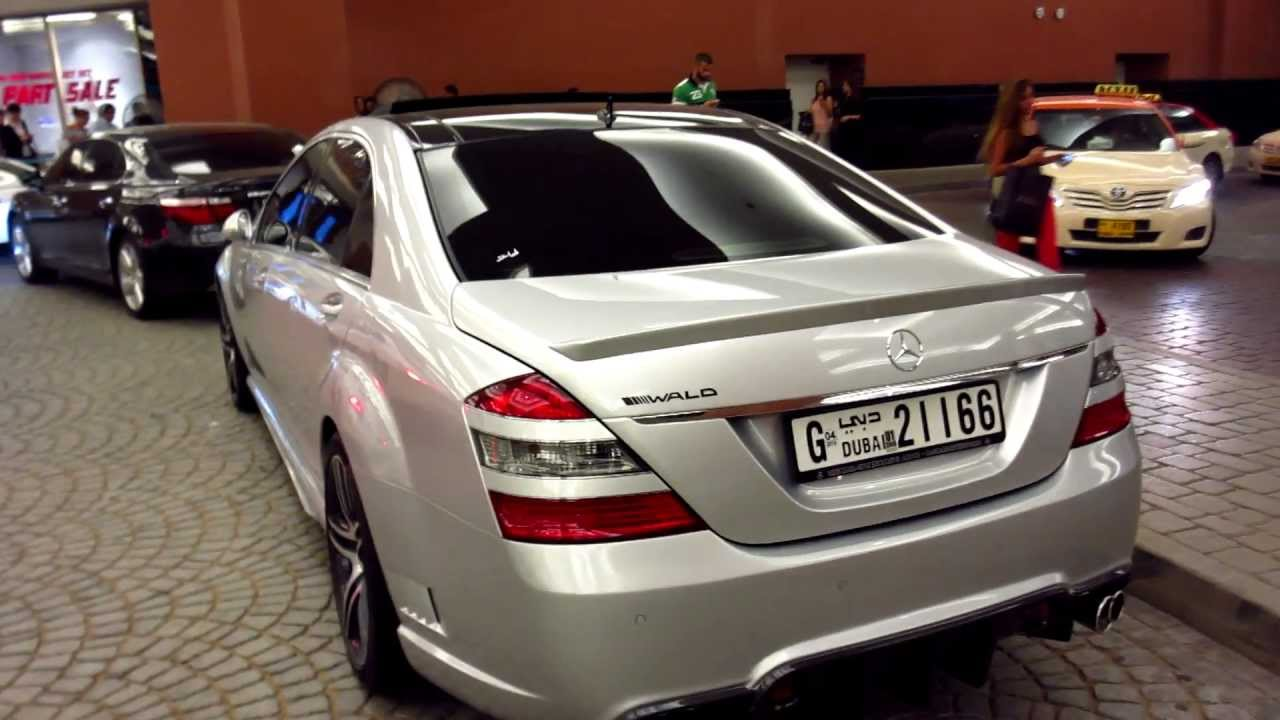 WALD custom bodykit S-Class Mercedes-Benz S500 - Mall of ...