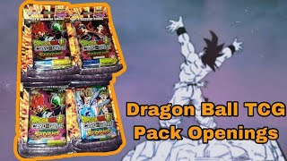 DBZ Pack Cracking w/ Fellow YouTubers