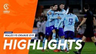 Highlights: Wales - Oranje onder 19 (20/03/2019) EK 2019-kwalificatie