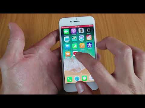 How do you turn on screen record on iphone 7