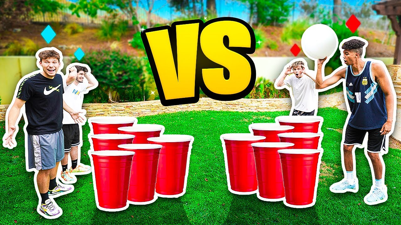 Extreme 2HYPE Giant Cup Dare Pong *Mopi Quit the Game!*