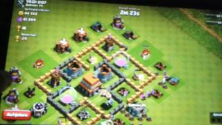 Angriff bei Clash of clans Coc#4 mit Konstantin MLG HD