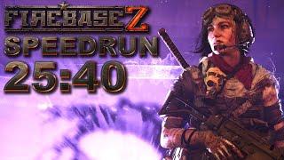 World Record Firebase Z Easter Egg Speedrun Solo *Building Rai K-84* 25:40
