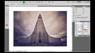 Photoshop Image Distortion Correction Tutorial (4 of 4) Perspective Fix