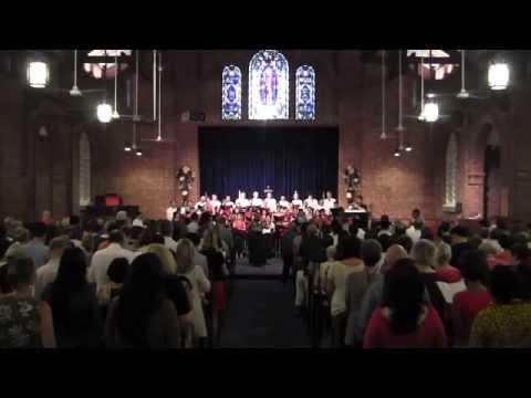 Nine lessons and carols 2014 - St George's Church, Singapore