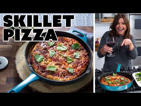 Rachael Ray Makes A Hot Sausage Cast-Iron Pizza | Food Network