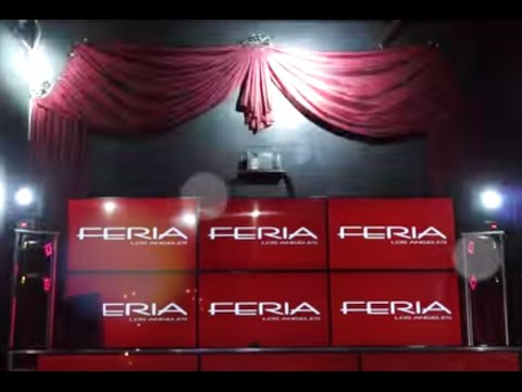 Nightclub Curtains: Design Ideas for LA Nightclubs - FERIA | Galaxy-Design Video #116