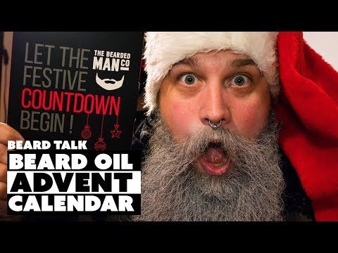 The Beard Oil Advent Calendar - BEST CHRISTMAS GIFT  - BEARD TALK