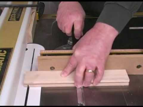Making Tongue Groove Joints Youtube