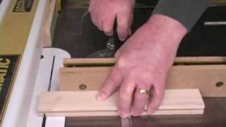 Making Tongue & Groove Joints