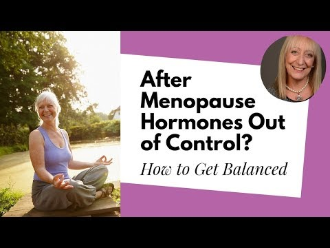 Natural Solutions for Getting Your Hormones Back in Balance After Menopause