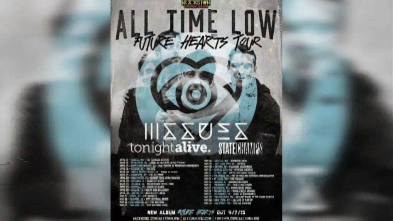 All time low tour dates in Brisbane