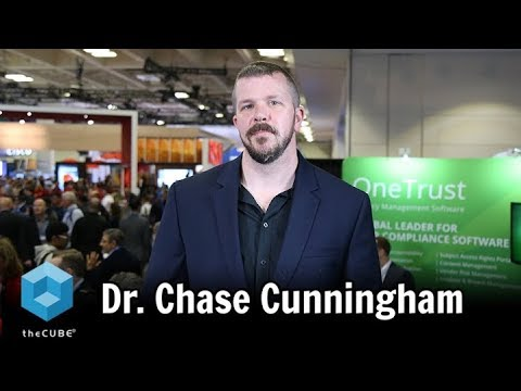 Dr. Chase Cunningham, Forrester Research | RSA 2018