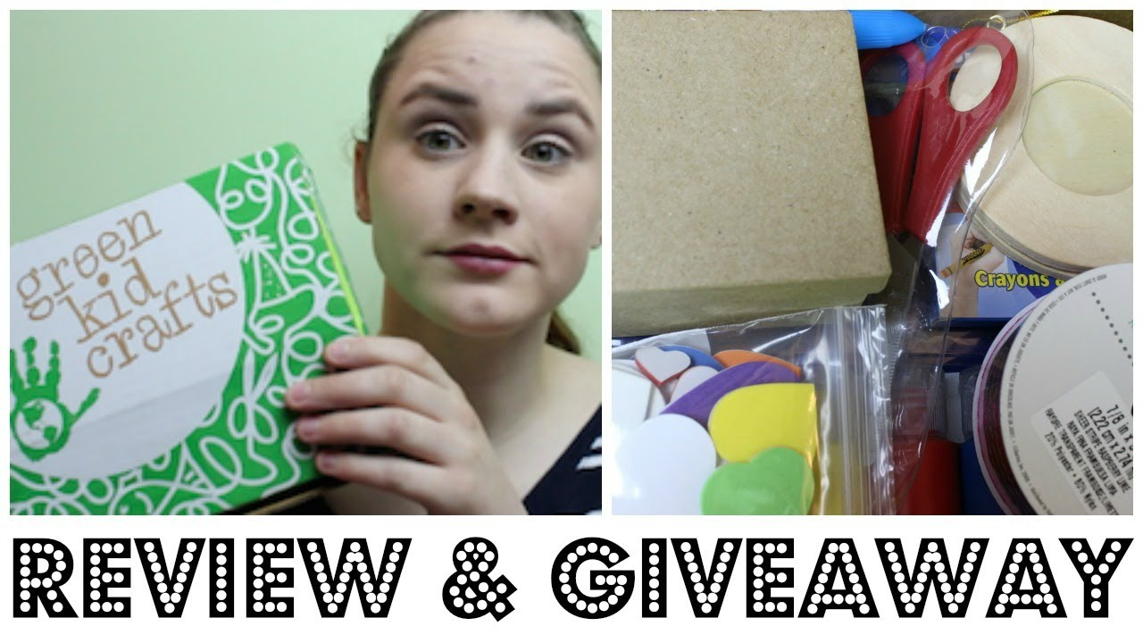 Green Kids Crafts Review & GIVEAWAY [CLOSED] - Make Sure to Switch to HD