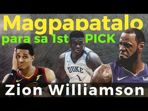 Cavaliers: Magpapa kulelat para ma-draft si Zion Willamson? - The NEXT Lebron James